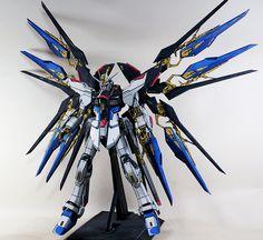 GUNDAM GUY: PG 1/60 Strike Freedom Gundam [ANIME STYLE] - Painted Build