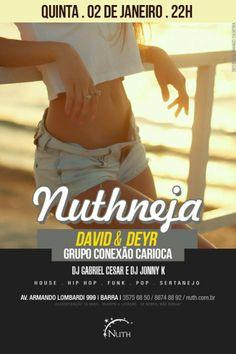 Conexão Carioca e David & Deyr na Nuth • Barrazine