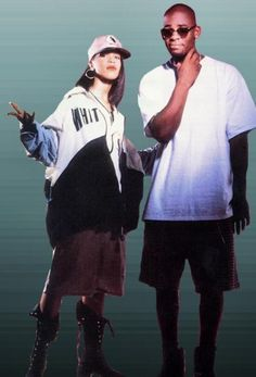 Left Eye! R.I.P. *Simple outfits like this for Carlos are very understated and the right feel*