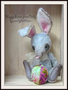 Handcrafted Soft Sculpture Artist Teddy Bears and plush toys made in South Australia since Soft Sculpture, Sculptures, Easter Bilby, Teddy Bears, Lions, Dinosaur Stuffed Animal, Plush, Felt, Dolls