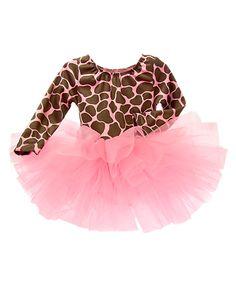 Pink/Brown Giraffe costume at Gymboree
