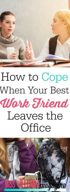 Your best work friend has left the office. You feel like work just isn't the same--how can you deal? Check out these foolproof ways to keep on keeping on! Travel Tips Travel Hacks packing tour Career Success, Career Advice, Relationship Advice, Relationships, Career Development, Personal Development, Work Related Stress, Corporate Women, Leaving A Job