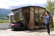 GazeBox: a primeira garagem dobrável, incrível
