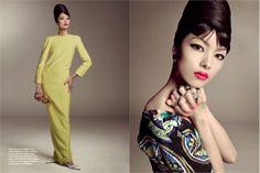 Fusion elegance. Il linguaggio dello stile è universale: border free. Così, rievocando l'allure esotica e sofisticata di China Machado, fashion icon degli anni Cinquanta, si racconta una storia di eleganza e raffinatezza.
