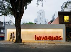 Havaianas Store in Brazil by Isay Weinfeld.