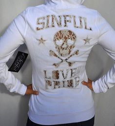 Sinful by Affliction Shiloh Woman's Hoodie Jacket