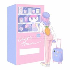 Carat Bong, Rose Quartz Serenity, Carat Seventeen, Kpop Drawings, Seventeen Wallpapers, Aesthetic Drawing, Kawaii Wallpaper, Kpop Fanart, Cute Illustration