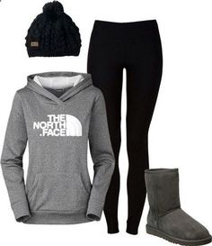 North face my style sneakers fashion, winter outfits, fashio Fall Winter Outfits, Autumn Winter Fashion, Summer Outfits, Casual Outfits, Winter Clothes, Beauty And Fashion, Look Fashion, Teen Fashion, Cheap Fashion