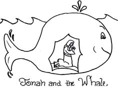 Jonah And The Whale Coloring Pages For Preschoolers Entrancing A Preschool Bible Study Part 1  Sunday School Bible And School