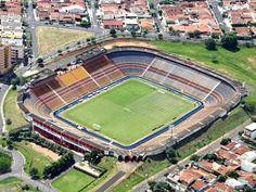 Estádio Benedito Teixeira (Benedito Teixeira Stadium), São José do Rio Preto,  São Paulo, Brasil.