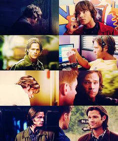 Sam's hair. The most impressive evolution of anything ever. #Supernatural