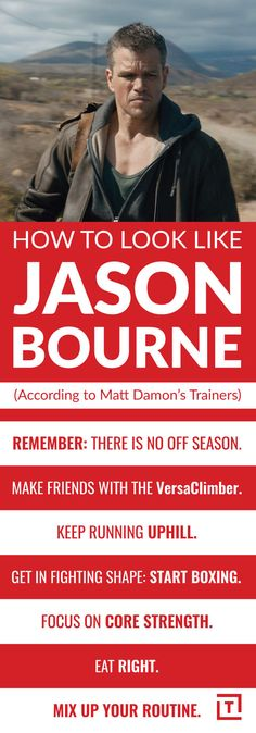 Matt Damon's Trainers on How to Work Out Like Jason Bourne