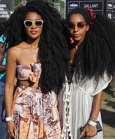 See this Instagram photo by @glamazonsblog • afropunk2016    long Afro hair…