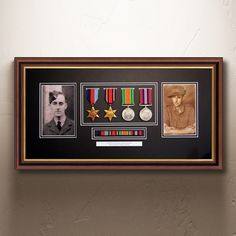 These #MedalFrames make a wonderful gift or a family heirloom for the family to cherish.