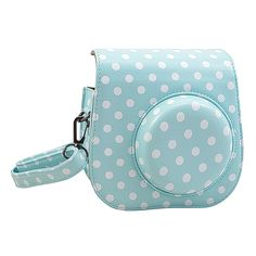 Amazon.com : Katia Instant Camera PU Leather Case with Shoulder Strap and Pocket for Fujifilm Instax Mini 8 Instant Film Camera (Blue) : Electronics | @giftryapp