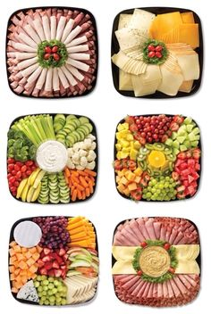 food platters / food + food recipes + food videos + food photography + food and drink + food recipes for dinner + food aesthetic + food platters Party Food Platters, Food Buffet, Food Trays, Meat Trays, Buffet Food Ideas Cold, Party Trays, Party Buffet, Meat And Cheese Tray, Meat Platter