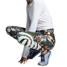 Cheap running tights for women, Buy Quality fitness sport directly from China yoga print Suppliers: 2017 Womens Floral Printed Yoga Workout Gym Leggings Fitness Sports Striped Pants Colorful Running Tights For Women Running Leggings, Workout Leggings, Workout Pants, Women's Leggings, Leggings Are Not Pants, Sport Tights, Floral Leggings, Striped Leggings, Gym