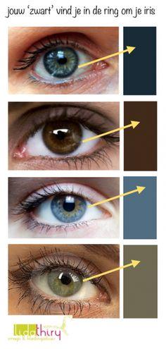 Jouw diepste neutrale kleur kun je vinden in de ring om je iris, maar ook in de kleur van je wenkbrauwen. Lees in dit interessante blog hoe jij zelf je topkleuren kunt vinden en een persoonlijk kleurenpalet kunt samenstellen #kleurenanalyse #kleurenpalet #yourcolors
