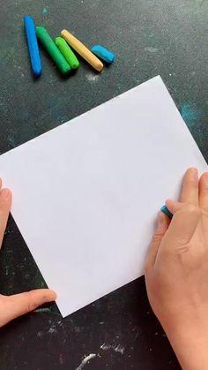 Oil Pastel Drawings Easy, Oil Pastel Paintings, Oil Pastel Art, Art Drawings For Kids, Art Drawings Sketches Simple, Crayon Art, Pencil Art Drawings, Art Painting Gallery, Easy Canvas Art