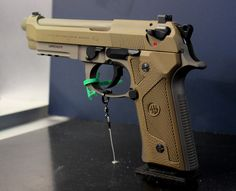 Beretta M9A3 pistolLoading that magazine is a pain! Get your Magazine speedloader today! http://www.amazon.com/shops/raeind
