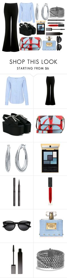 """""""Simple & Effective💋"""" by pulseofthematter ❤ liked on Polyvore featuring Theory, TIBI, Marni, Nine West, Burberry, Versace, Serge Lutens and David Yurman"""