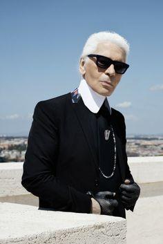 Karl Lagerfeld [Photo by Karl Lagerfeld]