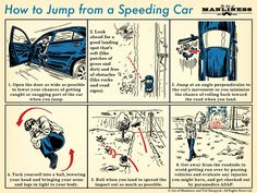 How to Jump From a Speeding Car | The Art of Manliness