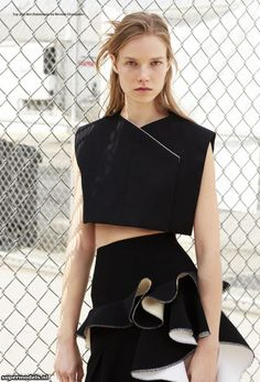 Suvi Koponen in 'A' - Photographed by Kayt Jones (i-D Pre-Spring 2013)    Complete shoot after the click...