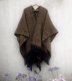 Poncho Girasol Mexican Design, Product Page, Boho, Kimono Top, Women, Fashion, Ponchos, Fabrics, Moda