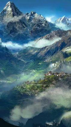 The Himalayans mountais