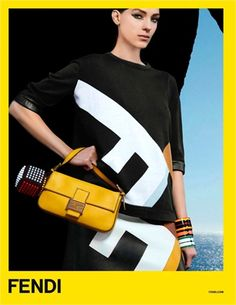 Fendi Spring Kati Nescher photographed by Karl Lagerfeld. Photos courtesy of Fendi Burberry, Gucci, Miu Miu, Louis Vuitton, Karl Lagerfeld Fendi, Fashion Week, Fashion Models, Christian Dior, Alexander Mcqueen