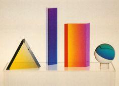 shapes 1979... - (sculptures)(colour)(geometric)