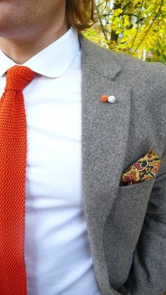 Just not the pocket square.