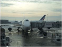 CDG Airport in Paris