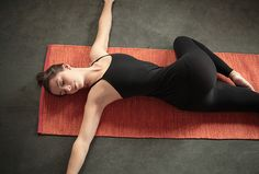 Supta Matsyendrasana (Reclined Twist) plus other yoga poses to detox