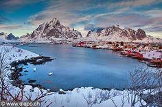 Iles Lofoten, Norvege