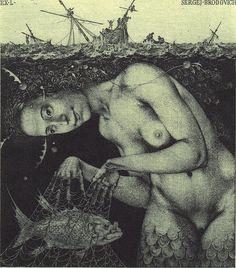 webbed hands (Konstantin Kalinovich)