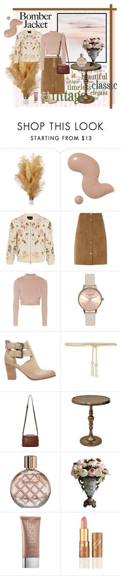 """""""Bomber jacket"""" by fabiana-fellini ❤ liked on Polyvore featuring 1928, Needle & Thread, Dorothy Perkins, Jonathan Simkhai, Topshop, Mint Velvet, Valentino, Want Les Essentiels de la Vie, Renwil and Barbour"""