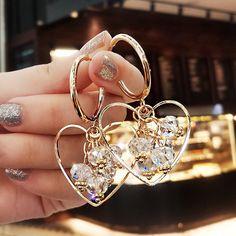 Heart Earrings, Alex And Ani Charms, Charmed, Bracelets, Jewelry, Jewlery, Bijoux, Jewerly, Bracelet