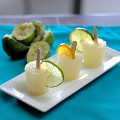 From Cooking By Moonlight: Margarita Ice Pops