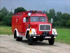 Magirus Eckhaubertreffen 2003 Liederbach - YouTube Busses, Fire Engine, Fire Trucks, Mercedes Benz, Police, Engineering, Vehicles, Firemen, Autos