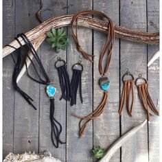 """53 Likes, 2 Comments - Sweet Creek Leather (@sweetcreekleather) on Instagram: """"They're back! Our """"Cassidy"""" Leather Fringe + Jasper Necklaces.  Get 10% OFF your orders when you…"""""""