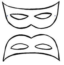 kleurplaten maskers carnaval