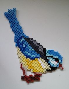 Hama Beads Design, Diy Perler Beads, Perler Bead Art, Pearler Bead Patterns, Perler Patterns, Hamma Beads Ideas, Peler Beads, Melting Beads, Beaded Animals