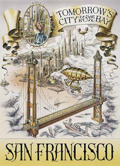 Discovery Arcade City of the Future, San Francisco - Disneyland Paris - Jim Michaelson, Maureen Johnston and R. Ziscis
