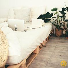 Diy Pallet Bed, Diy Bed, My New Room, My Room, Bed Frame, Room Decor, Interior Design, Decoration, Furniture
