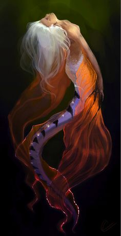 tspitz: Luminescent ~ Arteche on deviantart |Mermaid