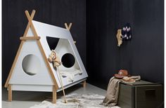 Children's Tent Tipi Bed