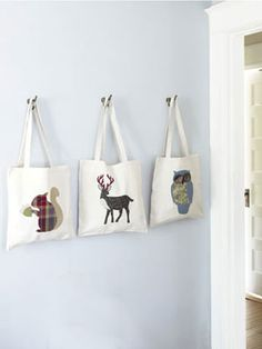 DIY: Animal Tote Bag
