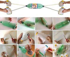 DIY PET Bottle Children Toy | FabDIY